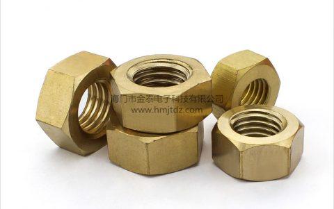 六角螺母-黄铜
