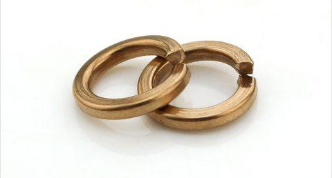 弹垫-弹簧垫圈-黄铜
