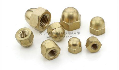 盖型螺母-黄铜